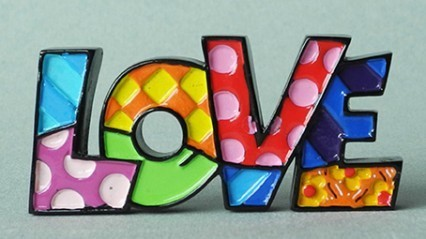 Britto Lettrage Love Mini