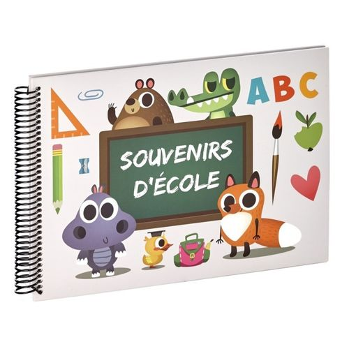 Album photo scolaire ABC Souvenirs d'école