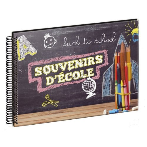 Album photo scolaire Back to school