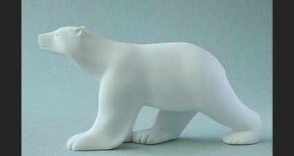 Pompon - Ours blanc