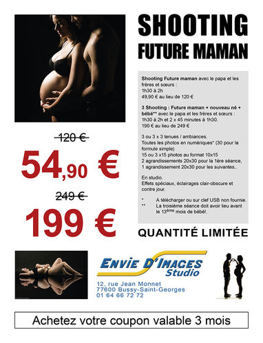 PROMO : Shooting Future maman